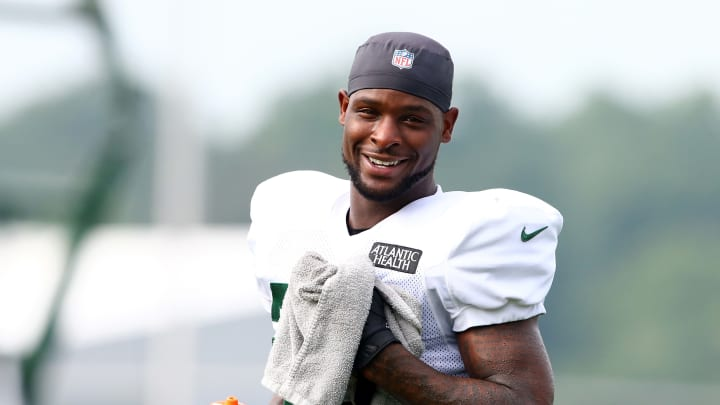 Le'Veon Bell at New York Jets Training Camp