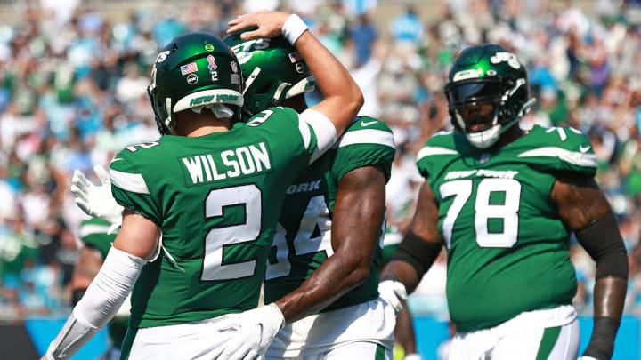 NY Jets, Zach Wilson, Corey Davis