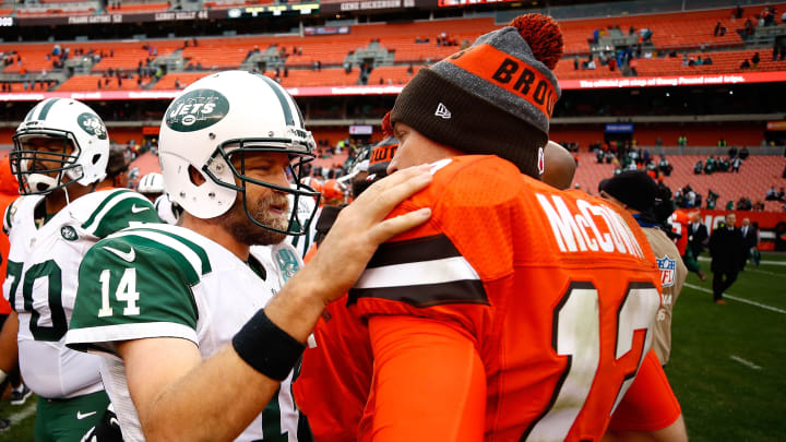 Ryan Fitzpatrick and Josh McCown in another life.