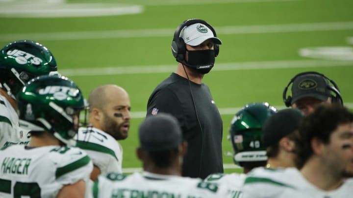 Adam Gase, New York Jets v Los Angeles Chargers