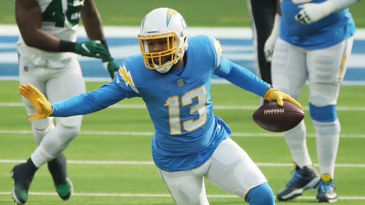 Keenan Allen passed Julio Jones and Antonio Brown for an NFL record in Week 11.