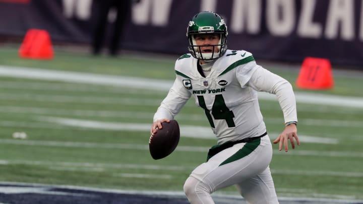 Sam Darnold, New York Jets v New England Patriots