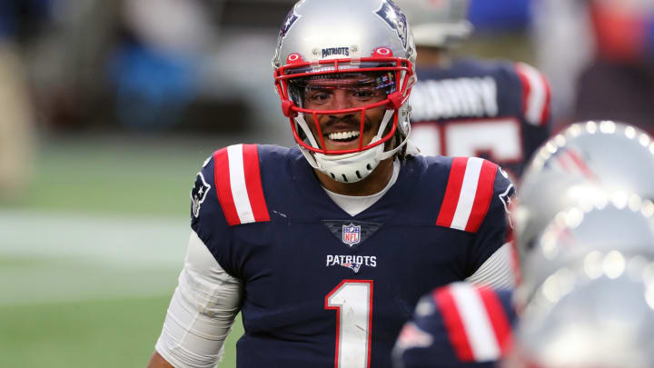 Free agent QB Cam Newton appears to be angling for a return to the New England Patriots.