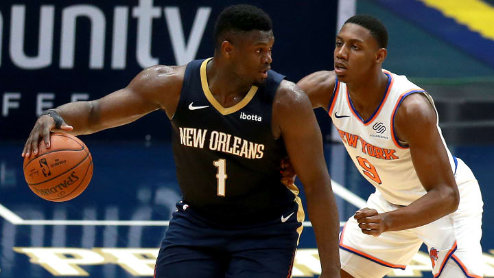 Zion Williamson Was Giddy Talking About Playing In New York