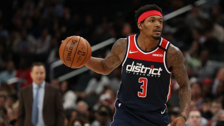 Bradley Beal, New York Knicks v Washington Wizards