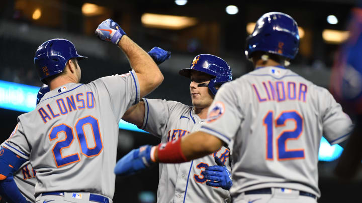 Pete Alonso and Francisco Lindor could be in for big games tonight against the Padres.