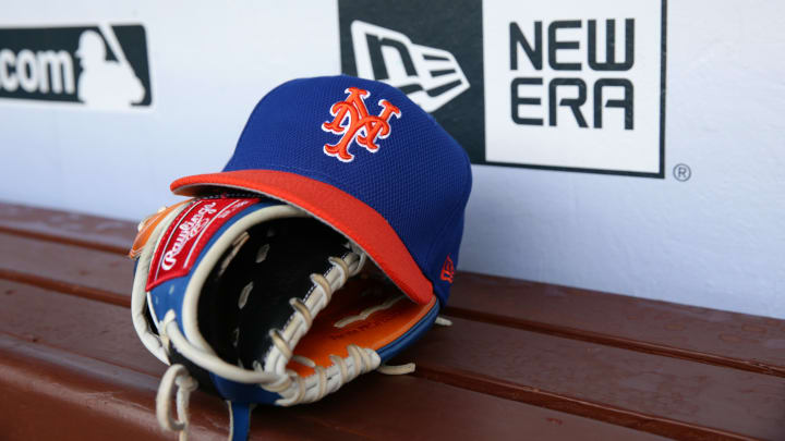 A Mets fan was hit in the face at Spring Training