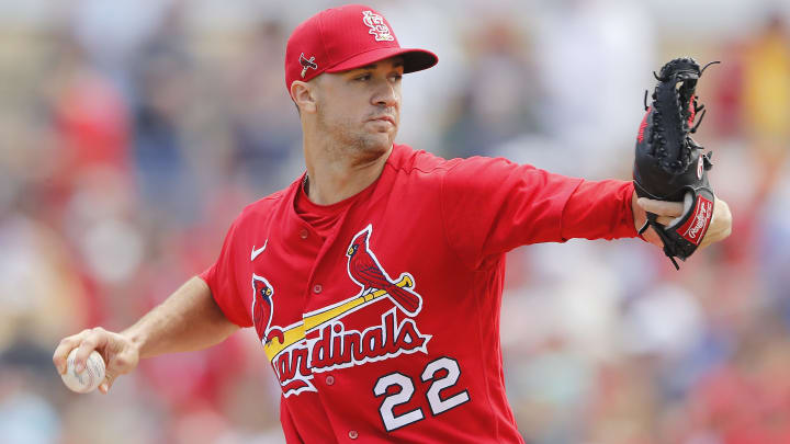 Cardinals right-hander Jack Flaherty