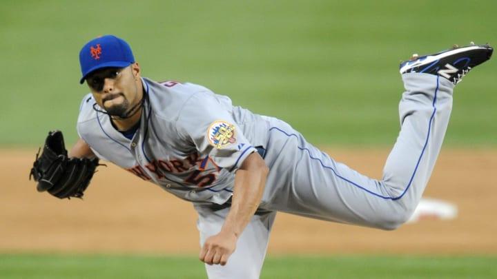 Johan Santana lanzó un juego sin hits ni carreras con los Mets