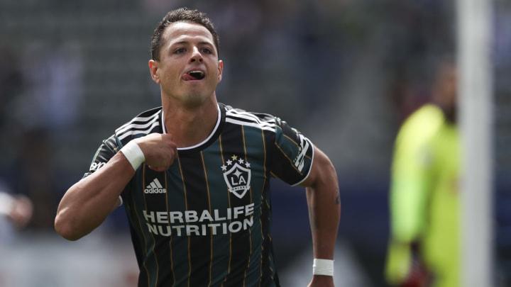 Javier Chicharito' Hernández, uno de los candidatos para conformar el 11 ideal de la MLS en el juego de las estrellas vs Liga MX