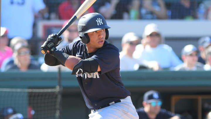 El venezolano está entre los cuatro mejores prospectos de los Yankees