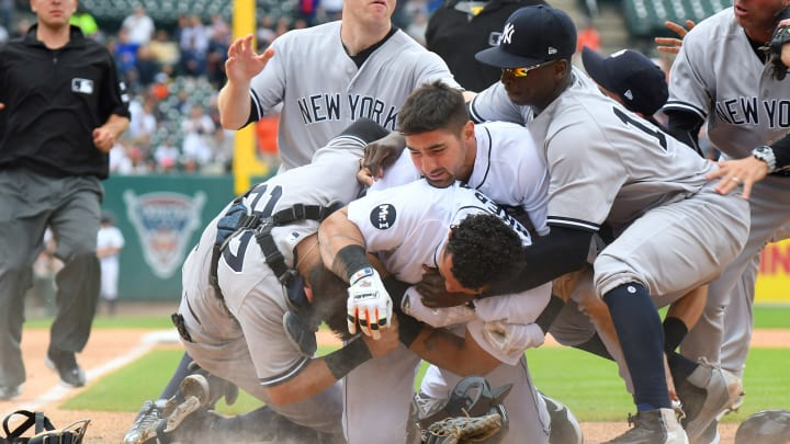 Things escalated quickly between the Tigers and Yankees in 2017.