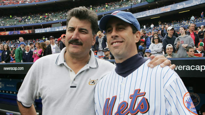 Keith Hernandez and Jerry Seinfeld.