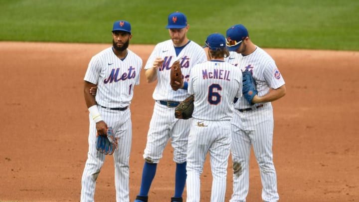 Amed Rosario, Todd Frazier, Jeff McNeil, Pete Alonso