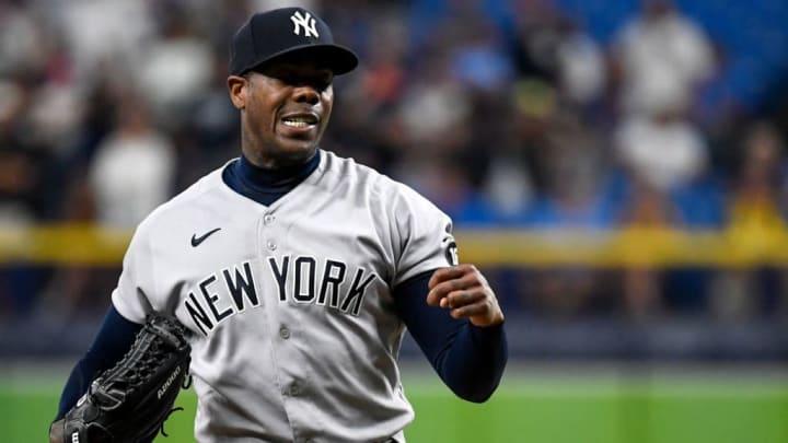 Aroldis Chapman podría quedarse en el buillpen de Nueva York un tiempo más