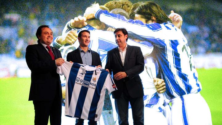 New coach of Spanish football team Real
