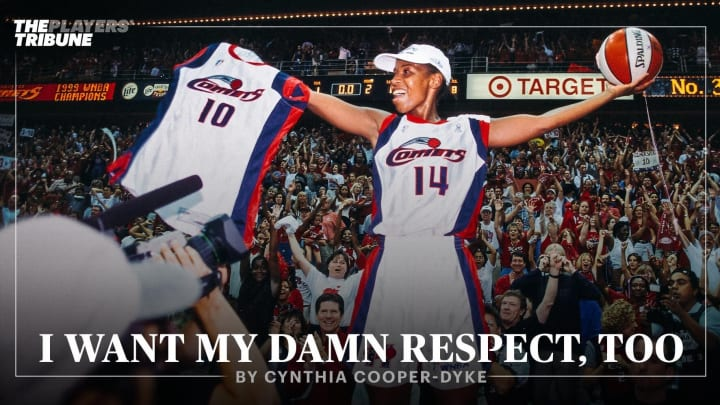 I Want My Damn Respect, Too | By Cynthia Cooper-Dyke