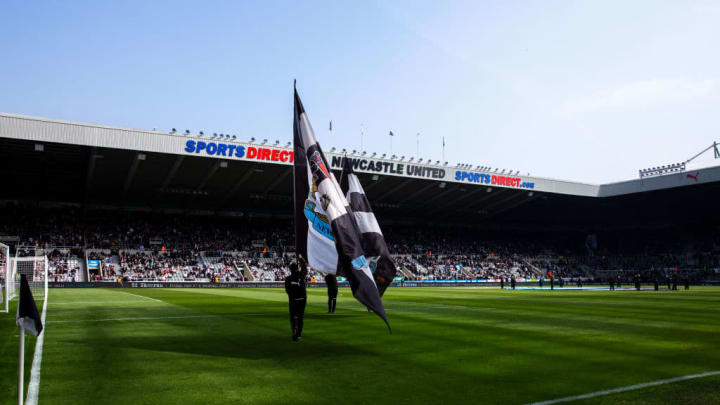 Newcastle's St James' Park Stadium