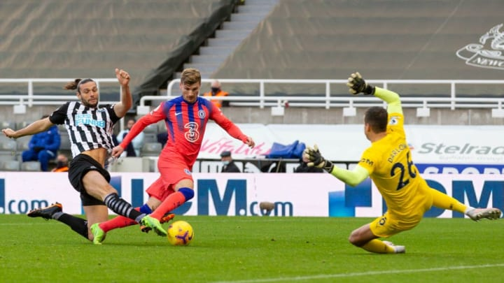 Andy Carroll (Newcastle), Timo Werner (Chelsea), Karl Darlow (Newcastle)