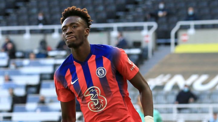 Tammy Abraham is taking his chance as Chelsea's main man
