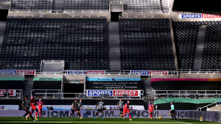 Fans will be able to return to stadia in certain areas soon, but not at Newcastle's St. James' Park