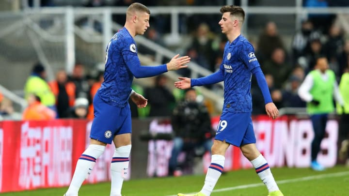 Ross Barkley, Mason Mount
