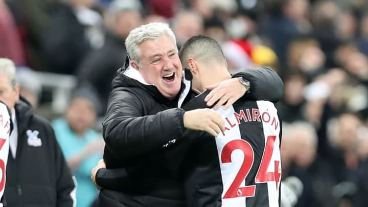 Bruce will be relieved to have Almiron back in the fold