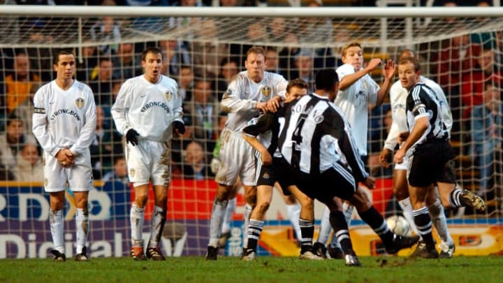 Newcastle United v Leeds United Premier League 2002