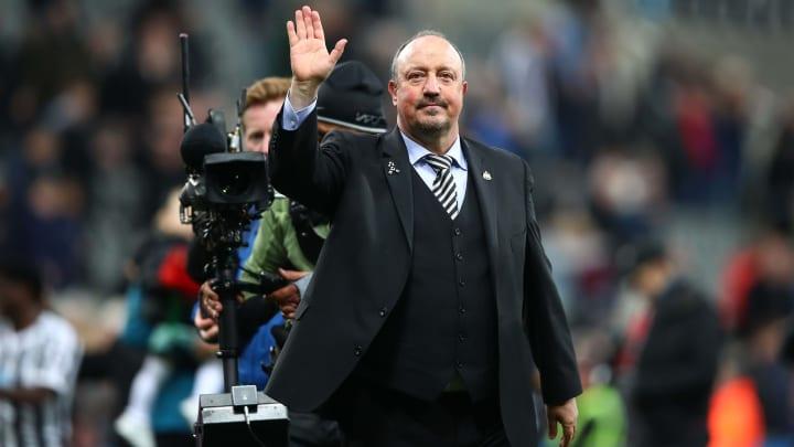 Rafa Benitez is on Everton's radar