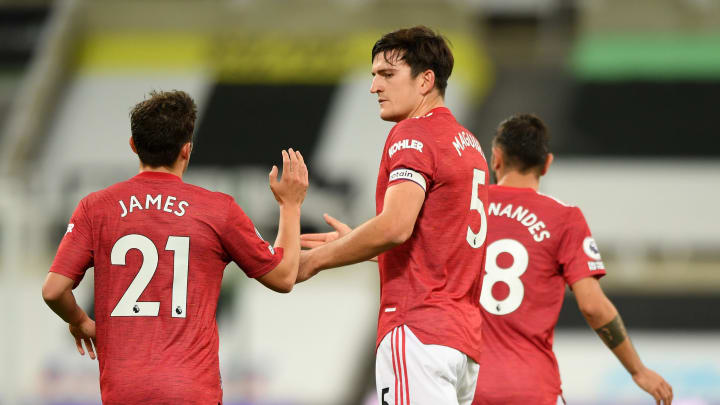 Harry Maguire, Daniel James