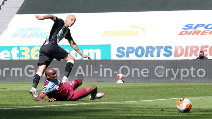 Shelvey was at his best today