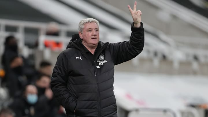 Steve Bruce was involved in a heated confrontation with Matt Ritchie