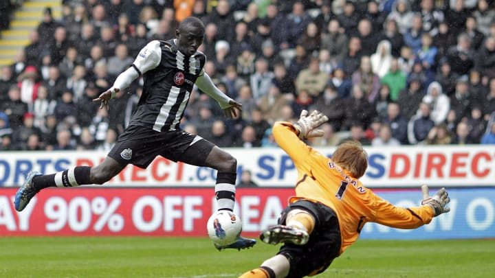 Newcastle United's Senegalese striker Pa