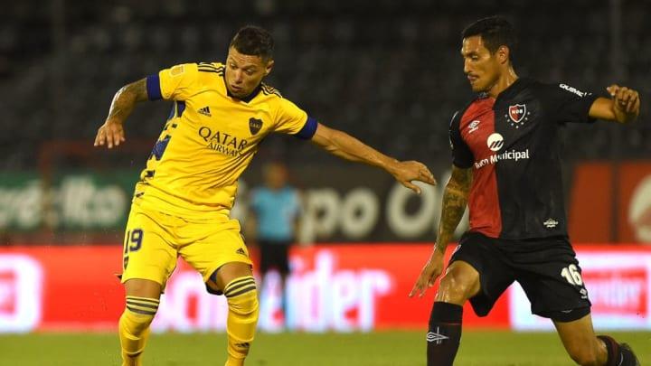 Newell's Old Boys v Boca Juniors - Copa De La Liga Profesional 2021 - Mauro Zárate intentó pero no pudo.