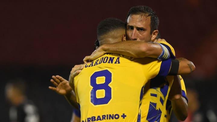 Newell's Old Boys v Boca Juniors - Copa De La Liga Profesional 2021 - Cardona.