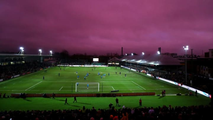 Rodney Parade recently hosted Tottenham Hotspur in the FA Cup