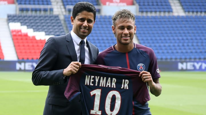 Neymar Jr, Nasser Al-Khelaifi