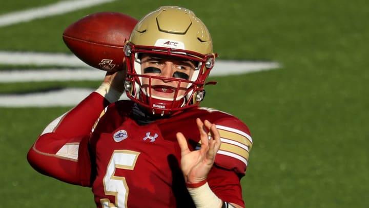 Georgia Tech vs Boston College prediction, picks, betting odds and spread for college football.