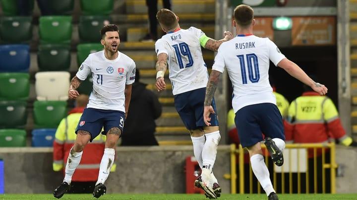 Duris scored the goal to send Slovakia to Euro 2020