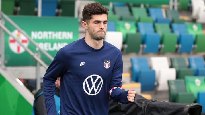 Christian Pulisic for the  USMNT