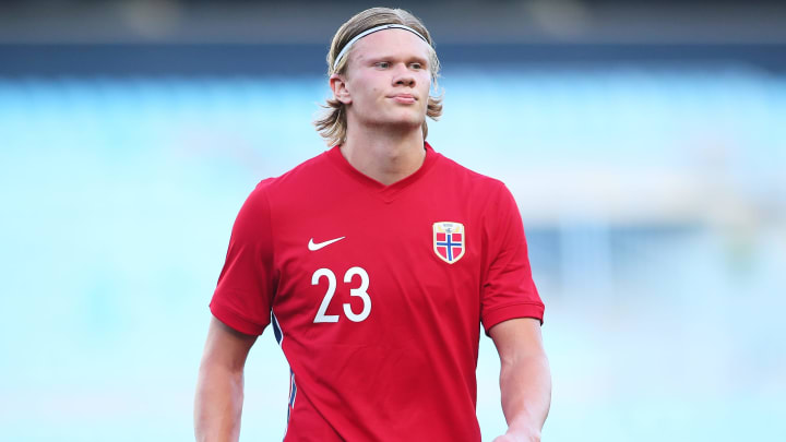 Erling Haaland is being chased by Chelsea
