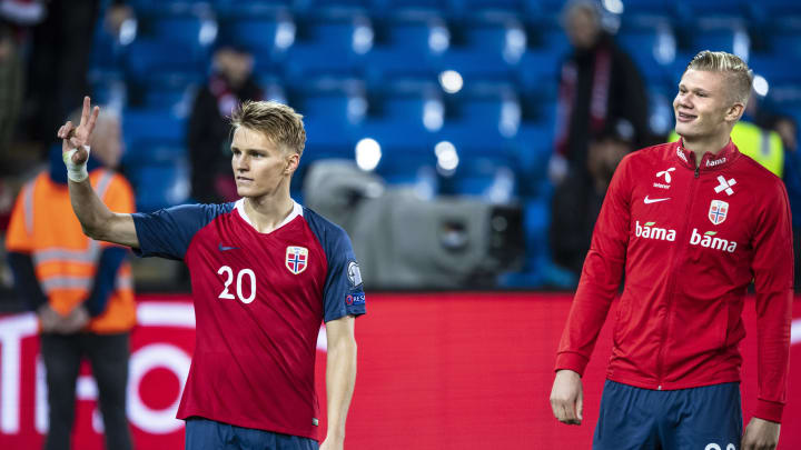 La Noruega de Odegaard y Haaland no estará en la Eurocopa