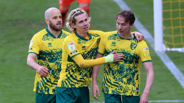 Norwich secured top spot in the league