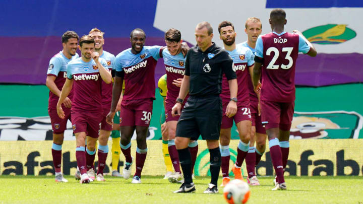 West Ham have three crucial fixtures remaining