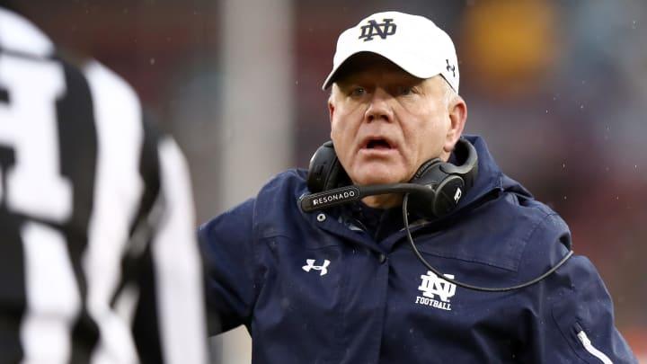 Brian Kelly, Notre Dame v Stanford
