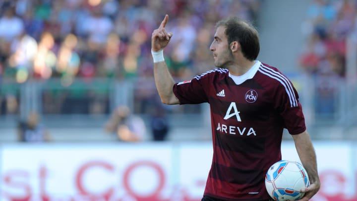 Nuremberg's Argentinian defender Javier