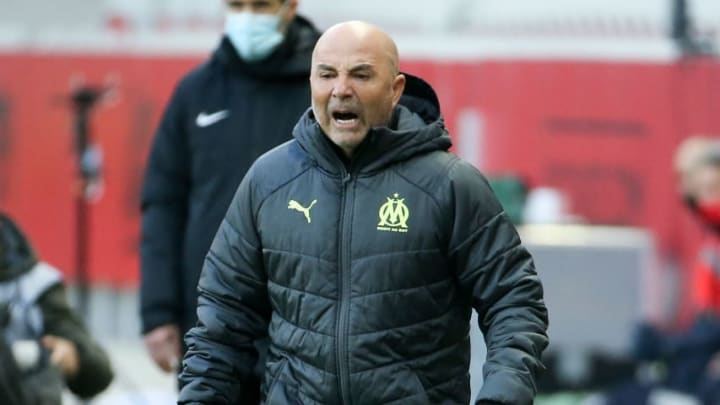 Jorge Sampaoli has only recently taken over at Marseille