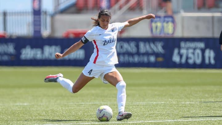 Alana Cook on loan with OL Reign vs Utah Royals FC