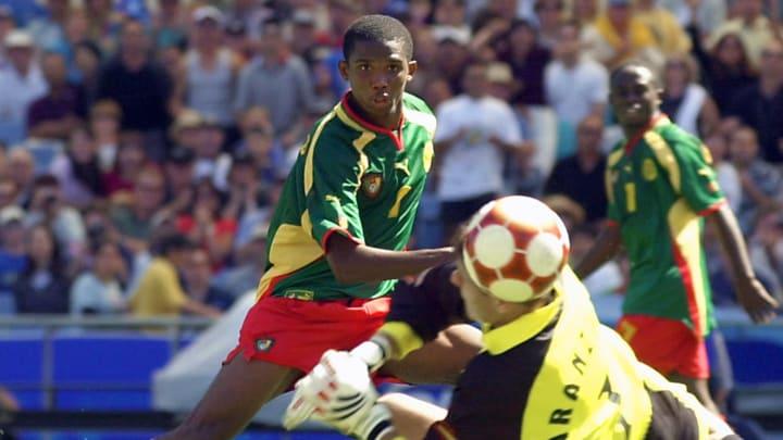 Camarões ficou com o ouro nos Jogos Olímpicos de 2000.