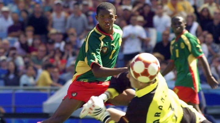 Samuel Eto'o Olimpiadas Camarões